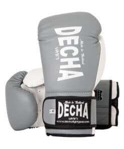 Gants Boxe Thai Decha Dbgvl1 Gris 01