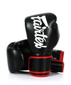Gants Boxe Thai Fairtex Bgv14 Noir