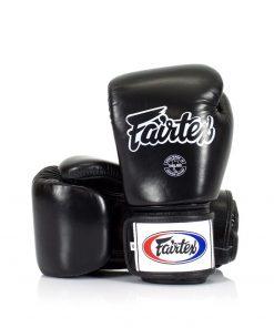 Gants Boxe Thai Fairtex Tight Fit Bgv1 Noir 01