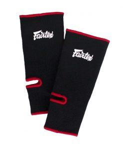Protege Cheville Boxe Thai Fairtex As1 Noir Rouge